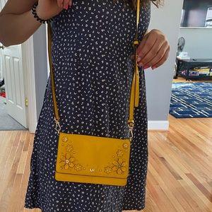 Yellow MK purse